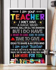 I AM YOUR TEACHER POSTER 11x17 Poster lifestyle-poster-4