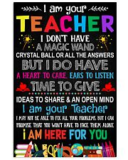 I AM YOUR TEACHER POSTER 16x24 Poster front