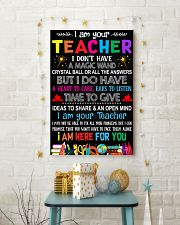 I AM YOUR TEACHER POSTER 16x24 Poster lifestyle-holiday-poster-3