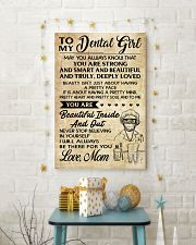 TO MY DENTAL GIRL - MOM 16x24 Poster lifestyle-holiday-poster-3