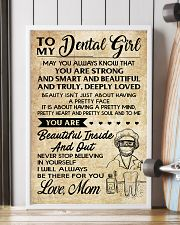 TO MY DENTAL GIRL - MOM 16x24 Poster lifestyle-poster-4