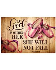 DANCE - GOD IS WITHIN HER 17x11 Poster front