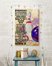 bowling EVERYDAY IS A NEW 11x17 Poster lifestyle-holiday-poster-3