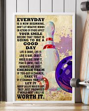 bowling EVERYDAY IS A NEW 11x17 Poster lifestyle-poster-4