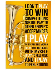 CORNET - I DON'T PLAY TO WIN COMPETITIONS 11x17 Poster front