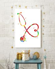 Stethoscope Watercolor poster 16x24 Poster lifestyle-holiday-poster-3