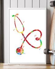 Stethoscope Watercolor poster 16x24 Poster lifestyle-poster-4