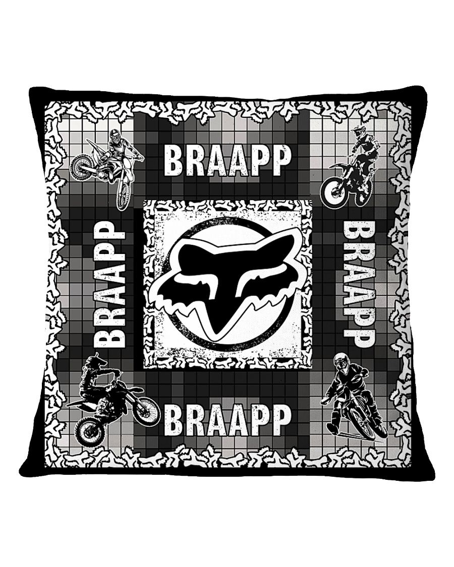 motocross braapp pillowcase Square Pillowcase