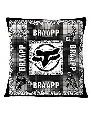 motocross braapp pillowcase Square Pillowcase front