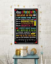 DEAR STUDENTS I BELIEVE IN YOU POSTER 01 11x17 Poster lifestyle-holiday-poster-3
