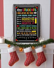 DEAR STUDENTS I BELIEVE IN YOU POSTER 01 11x17 Poster lifestyle-holiday-poster-4