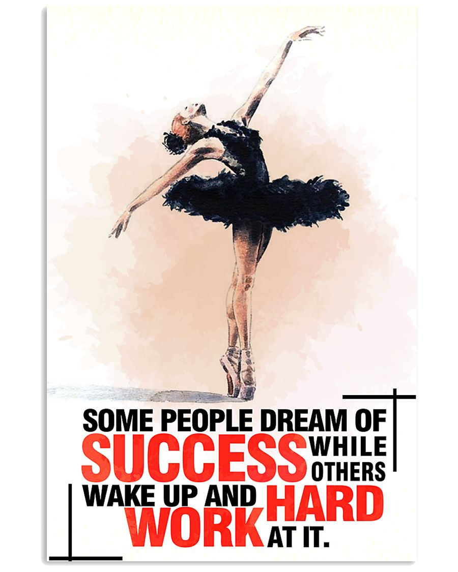 SOME PEOPLE DREAM OF SUCCESS poster 11x17 Poster