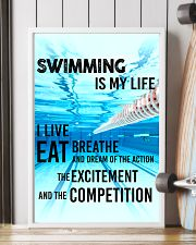 SWIMMING IS MY LIFE POSTER 11x17 Poster lifestyle-poster-4