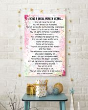 being a social worker means 16x24 Poster lifestyle-holiday-poster-3