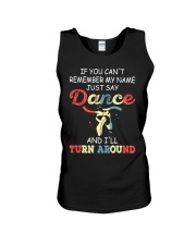IF YOU CAN'T REMEMBER DANCE Unisex Tank thumbnail