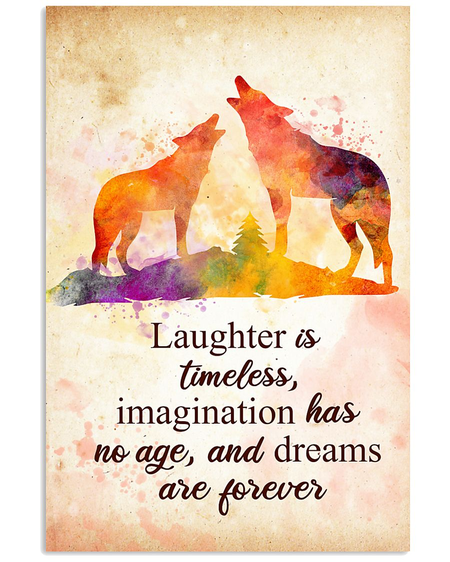 Wolf - Laughter is timeless Poster STAR 11x17 Poster