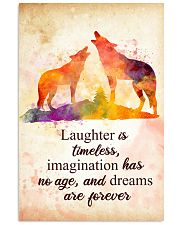 Wolf - Laughter is timeless Poster STAR 11x17 Poster front