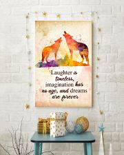 Wolf - Laughter is timeless Poster STAR 11x17 Poster lifestyle-holiday-poster-3