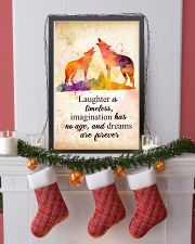 Wolf - Laughter is timeless Poster STAR 11x17 Poster lifestyle-holiday-poster-4