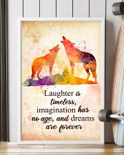 Wolf - Laughter is timeless Poster STAR 11x17 Poster lifestyle-poster-4