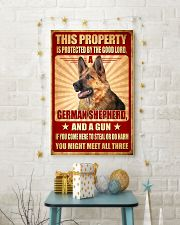 German Shepherd - This Property Poster SKY 11x17 Poster lifestyle-holiday-poster-3