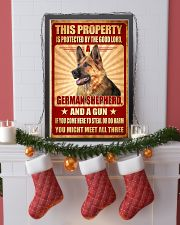 German Shepherd - This Property Poster SKY 11x17 Poster lifestyle-holiday-poster-4