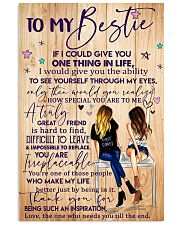 To My Bestie Poster 11x17 Poster front