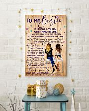 To My Bestie Poster 11x17 Poster lifestyle-holiday-poster-3