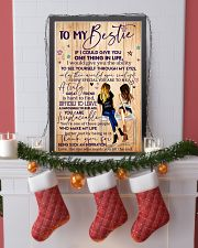 To My Bestie Poster 11x17 Poster lifestyle-holiday-poster-4