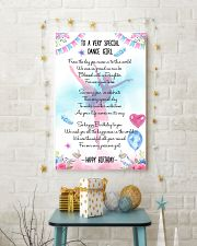 DANCE GIRL - TO A VERY SPECIAL 11x17 Poster lifestyle-holiday-poster-3