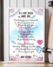DANCE GIRL - TO A VERY SPECIAL 11x17 Poster lifestyle-poster-4