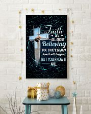 GYMNASTICS - FAITH IT'S ALL ABOUT BELIEVING 11x17 Poster lifestyle-holiday-poster-3