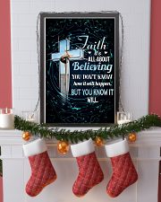 GYMNASTICS - FAITH IT'S ALL ABOUT BELIEVING 11x17 Poster lifestyle-holiday-poster-4