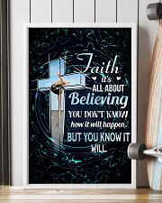 GYMNASTICS - FAITH IT'S ALL ABOUT BELIEVING 11x17 Poster lifestyle-poster-4
