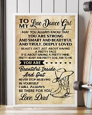 TO MY LINE DANCE GIRL - DAD 16x24 Poster lifestyle-poster-4
