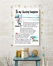 TO MY SKATING DAUGHTER - I SOMETIMES WISH 11x17 Poster lifestyle-holiday-poster-3