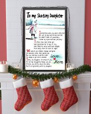 TO MY SKATING DAUGHTER - I SOMETIMES WISH 11x17 Poster lifestyle-holiday-poster-4