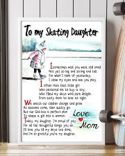 TO MY SKATING DAUGHTER - I SOMETIMES WISH 11x17 Poster lifestyle-poster-4