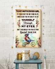 TO MY MOTOCROSS GIRL - YOU ARE TO ME 11x17 Poster lifestyle-holiday-poster-3