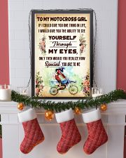 TO MY MOTOCROSS GIRL - YOU ARE TO ME 11x17 Poster lifestyle-holiday-poster-4
