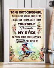TO MY MOTOCROSS GIRL - YOU ARE TO ME 11x17 Poster lifestyle-poster-4