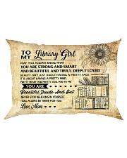 TO MY LIBRARY GIRL - RPILLOWCASE Rectangular Pillowcase front