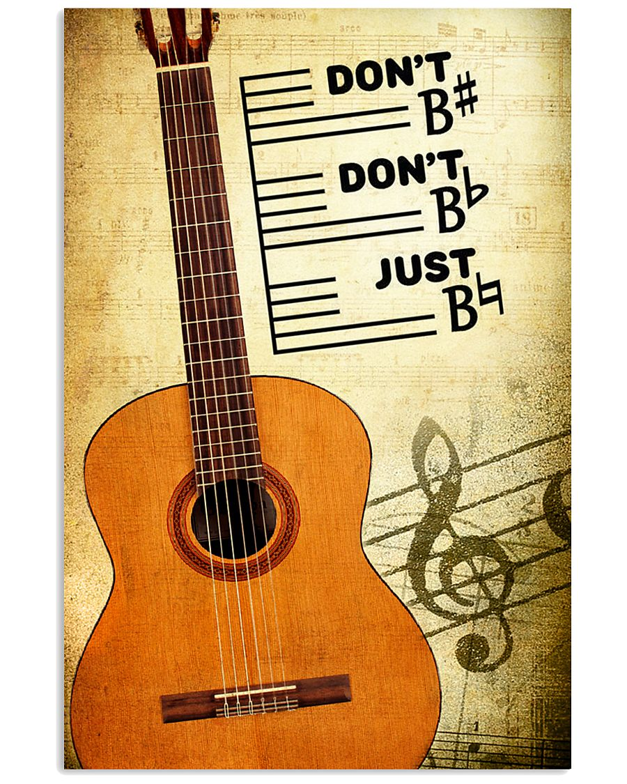 Classical Guitar - Don't don't Just SKY poster 11x17 Poster