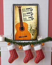 Classical Guitar - Don't don't Just SKY poster 11x17 Poster lifestyle-holiday-poster-4