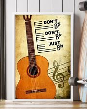 Classical Guitar - Don't don't Just SKY poster 11x17 Poster lifestyle-poster-4