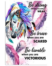 Horse - Be Strong When You Are Weak Poster - SR 11x17 Poster front