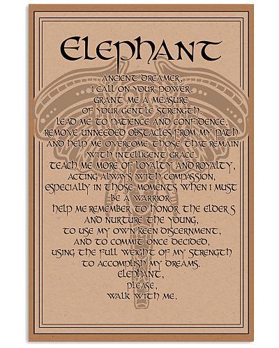 ELEPHANT- ANCIENT DREAMER POSTER
