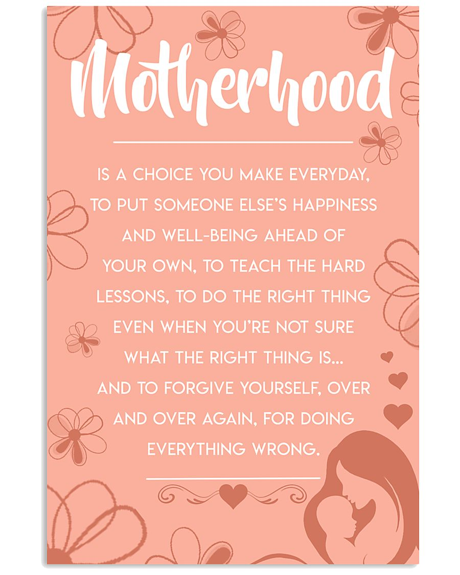 Motherhood - Poster 11x17 Poster