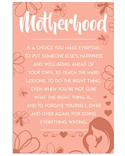 Motherhood - Poster 11x17 Poster front