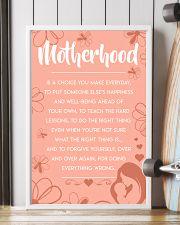 Motherhood - Poster 11x17 Poster lifestyle-poster-4